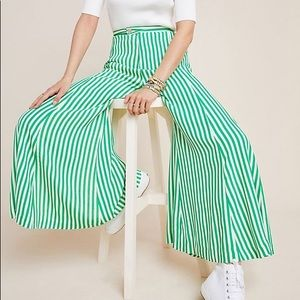 Mackenzie Striped Wide-Leg Pants